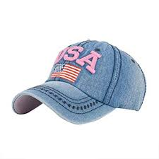 Iuhan <b>USA Flag</b> Denim Rhinestone <b>Baseball Cap</b> Snapback Hip ...