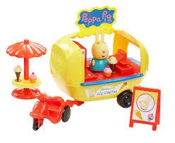<b>Peppa Pig</b> Набор фигурок <b>Кафе</b>-<b>мороженое Ребекки</b> 30628, цвет ...
