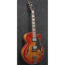 Ibanez Artcore Vintage AFV75 Hollowbody Vintage Amber <b>Burst</b> ...