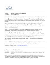 sample resume for board of directors positions sample resume 2017 how