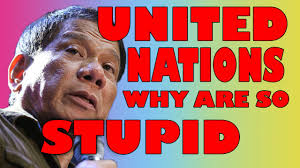 Image result for duterte photos with United nation