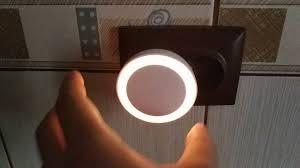 <b>Yeelight</b> YLYD11YL Light Sensor <b>Plug-in LED Nightlight</b> - YouTube