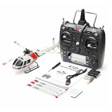 <b>XK K123 6CH</b> Brushless AS350 Scale 3D6G System RC Helicopter ...
