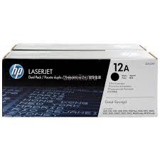<b>Тонер</b>-<b>картридж HP 12A</b> (black) набор 2 шт <b>Q2612AF</b>