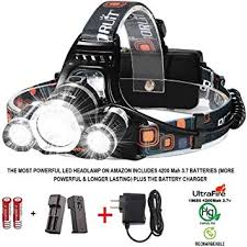 FairOnly 50000 lumens <b>LED</b> Headlamp XLAMP XHP70 Mico <b>USB</b> ...