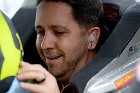 Matt Crafton, driver of the #88 Ideal Door / Menards Toyota, sits in his truck in the garage area during practice for the NASCAR Camping World Truck Series ... - Matt%2BCrafton%2BHomestead%2BMiami%2BSpeedway%2BDay%2BbvsVccOYvh_l