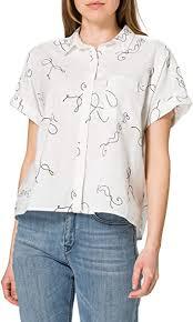 <b>Levi's</b> Women's <b>Laney Ss</b> Button Down Shirt: Amazon.co.uk: Clothing