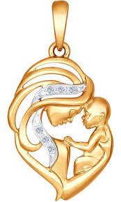 Золотые <b>кулоны</b>, <b>подвески</b> и <b>медальоны</b> SOKOLOV купить в ...