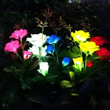 best top <b>solar power led</b> rose ideas and get free shipping - a44