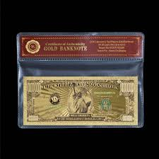 US Gold <b>Banknote Color</b> $1 Million Dollar Currency Bill <b>Banknote</b> ...