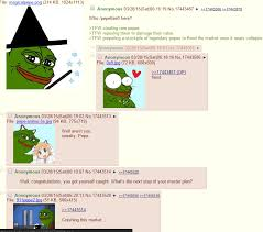 Whats up with this rare pepe thing on 4chan? Also meme market ... via Relatably.com
