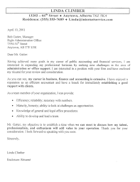accountant cover letter example cover letters samples