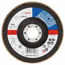 <b>Круг лепестковый торцевой</b> S.f.Metal, 125 мм, K80 <b>Bosch</b> ...