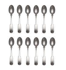 C&L 4-pack <b>Stainless Steel Dessert</b> Serving Spoons Ice Cream ...