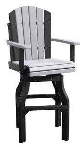 bar height patio chair: outdoor patio balcony height arm chair  patio bar chairs