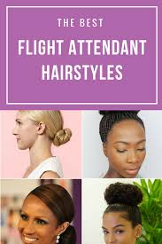 ebony christina how to become a flight attendant the best flight attendant styles for all hair types