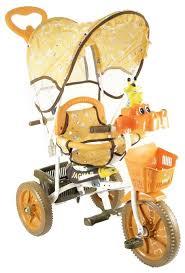 Купить <b>Трехколесный велосипед JAGUAR MS</b>-<b>0737</b> коричневый ...