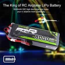 <b>Ovonic</b> 2200mAh <b>3S 11.1V</b> 50C Deans Lipo Battery for RC Car Heli ...