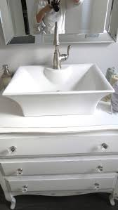 Old Bathroom Sink 17 Best Images About Old Dresser Turns Into Bathroom Vanity On