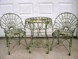 over the centuries wrought iron has become the predominant material of choice in selecting outdoor patio furniture its durability makes it especially attractive rod iron patio