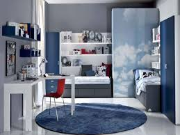 grey stripes single sofa complete boys room with white furniture