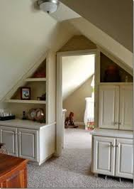 i want this for our bonus roomplayroom what a great use of the weird ceilings projects to try pinterest bonus rooms weird and ceilings bonus room playroom office