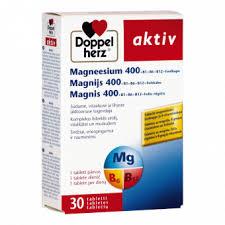 DOPPELHERZ <b>AKTIV</b> Магний 400+ В1 + В6 + В12 + <b>Фолиевая</b> ...