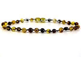 <b>Amber Teething Anklet</b> & <b>Bracelet</b> & <b>Necklace</b> | Cheap price | Quality ...