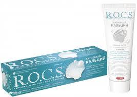 ROZETKA | <b>Зубная паста R.O.C.S.</b> Активный кальций 94 г ...