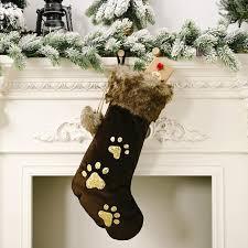 Big <b>Christmas</b> Stockings Gift Bag New Year Decoration <b>Sequined</b> ...
