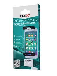 <b>Защитное стекло Onext</b> для Meizu M5 Note, 641-41451, с рамкой ...
