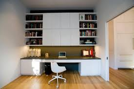 modern home office with built in storage cabinets cabinets modern home office