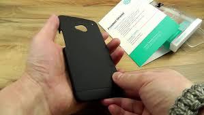 Обзор: Прочный пластиковый <b>чехол</b> накладка Nillkin для HTC ...