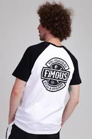 <b>Футболка FAMOUS Chaos</b> Patch Raglan Tee White/Black, купить ...