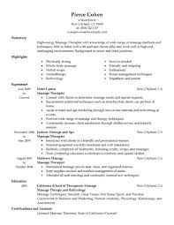 massage therapy resume therapy resume geeknicco resume spa massage therapy resume examples
