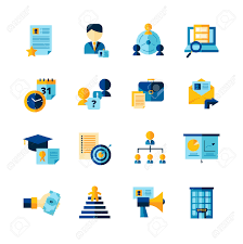 career assessment stock photos images royalty career career assessment resume flat color decorative icons set of finding professional staff interview and career