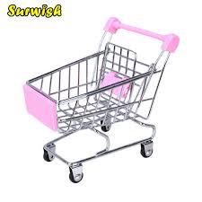 Surwish <b>Creative Mini</b> Children Handcart Simulation <b>Supermarket</b> ...