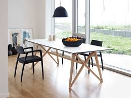 table for kitchen: some modern designers who are trying to create something new and unusual every day often tend to the view that oval tables for kitchen is a sign of