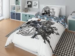 <b>Постельное белье Марвел</b> (<b>Marvel</b>) 1.5 спальное <b>Avengers</b> black ...