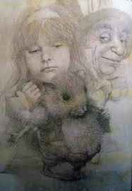 """Роберт Ингпен. Иллюстрация из <b>книги</b> """"Алиса в <b>Стране Чудес</b> ..."""