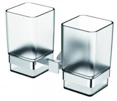Держатель для стаканов двойной <b>Хром KAISER Moderne</b> KH ...