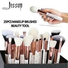 JESSUP White Professional <b>Makeup Brushes</b> Tools kit Foundation ...