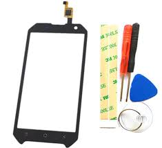 Black Touch Screen <b>Digitizer</b> Replacement Part <b>For Blackview</b> ...