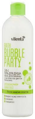 <b>Гель</b>-<b>пена для ванны и</b> душа Vilenta Bath bubble party После ...