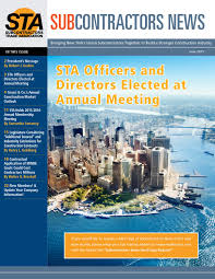 sta newsletter 2015 by subcontractors trade association issuu
