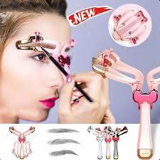 <b>Adjustable</b> Eyebrow <b>Stencil</b> Shaper   <b>Eyebrow shaping</b>, Diy eyebrow ...