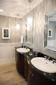 luxurious bathroom installed on hardwood laminate flooring and combined with prestigious bathroom pendant lighting appealing bathroom pendant lighting installed