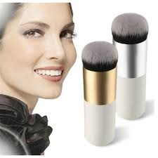 <b>New Chubby Pier Foundation</b> Brush Flat Cream Makeup Brushes ...