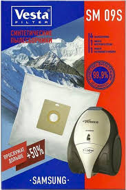 <b>Vesta</b> filter SM 09 S <b>комплект</b> пылесборников, 4 шт + 2 <b>фильтра</b> ...