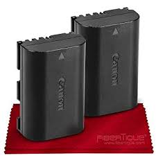 Canon Battery Pack LP-E6N 2-Pack for Canon EOS ... - Amazon.com